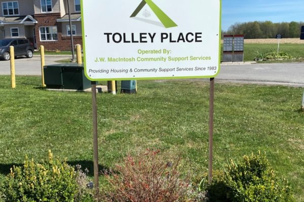Tolley Place Sign